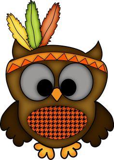 Thanksgiving Owl Sample