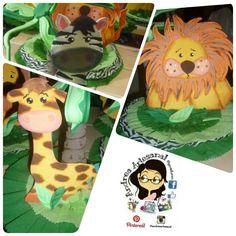 Centro de mesa Animales de la selva Pikachu, Fictional Characters, Art, Rainforest Animals, Centerpieces, Projects, Kunst, Fantasy Characters, Art Education