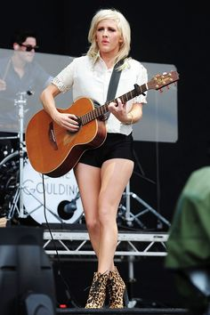 Style Icons for 2013: Ellie Goulding Love the whole outfit, especially those sexy heels