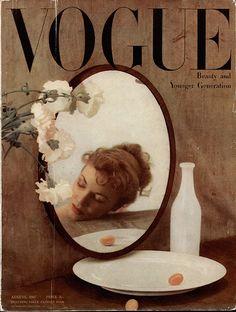 Vogue 1947. For beautiful wedding dresses go to www.emmahunt.co.uk