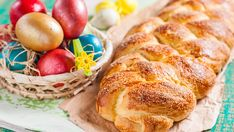húsvéti foszlós kalács