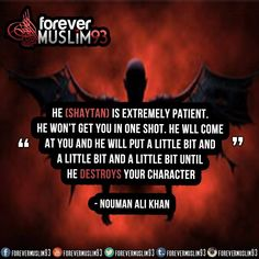 Astaghfirullah..Ya Allah protect us and all our relationships and loved ones from the shaytaan and his evil plans..ameen..