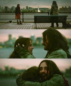 """**Spoiler alert*** in Mr. Nobody there were three paths he could've taken in life; three types of suffering. However, I think the path that was worth suffering in which he had truly loved and lost, was with Anna. It was a hopeful, sad kind of love; despite the short moments they had together and years of waiting and longing. His last dying word was """"Anna"""". Reminded me of """"Rosebud"""" being said in the film *Citizen Kane."""
