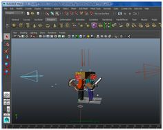 Creating creepGEAR graphics using Maya. This software allows us to make kool-looking 3D minecraft art.  See more at creepGEAR.com. Mesh Tool, Minecraft Art, Maya, Software, Graphics, 3d, Create, Charts, Graphic Design