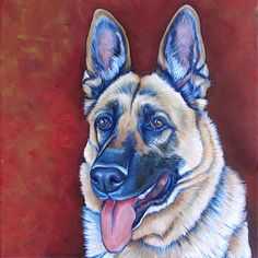 x Custom Pet Portrait Acrylic Painting on Canvas of One Dog, Cat, or Other Animal Purse Option Available. Modern Pet Art OOAK - A Record - Dog Paintings, Portrait Paintings, Portrait Acrylic, Dog Portraits, Acrylic Painting Canvas, Dog Art, Dogs, Dog Drawings, Animal Drawings