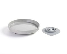 Miniware Sandwich Plate  Color: Nordic Lake (grey)   100% Natural Materials     Kids eating set  www.bonnsu.com