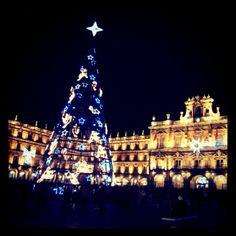 la navidad en la plaza mayor, salamanca