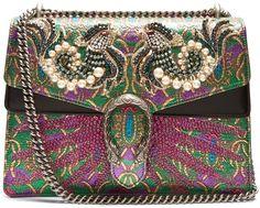 b3c02eb8846125 GUCCI Dionysus embellished brocade shoulder bag #fashion #pandafashion  #shoulderbag #gucci Elite Fashion
