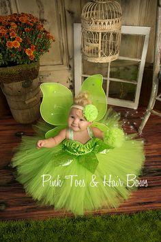 Tinkerbell Tutu Dress Tinkerbell by GlitterMeBaby on Etsy