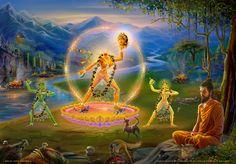 Ucheyma: The Severed Head Goddess Vajra Yogini Maa Wallpaper, Kali Mata, Lord Ganesha Paintings, Durga Images, Kali Goddess, Tibetan Art, Buddhist Art, Buddha Buddhism, Hindu Deities