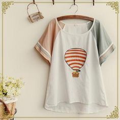 Buy 'Fairyland � Short Sleeved Applique Embroidered T-Shirt' with Free International Shipping at YesStyle.com. Browse and shop for thousands of Asian fashion items from China and more!