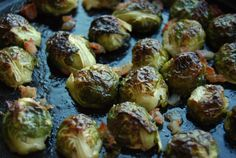 See Girl Cook - Maple-Bacon Roasted Brussels Sprouts (and a few Thanksgiving dish ideas!)