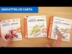 Giocattoli di carta per bambini da colorare e costruire: Immagicart - YouTube