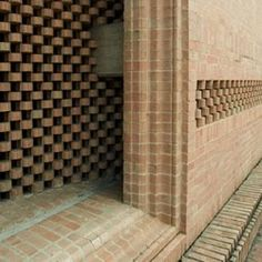 Biografía - Fundacion Rogelio Salmona Build A Wall, Shelf Furniture, Space Architecture, Brickwork, Concrete, Textures, Terra Cotta, Bricks, Envelope