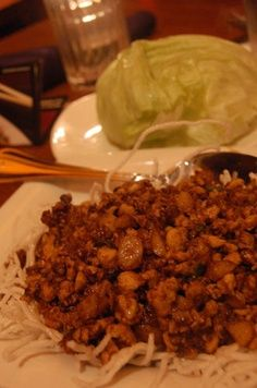Chicken Lettuce Wraps like PF Chang  other crock pot recipes