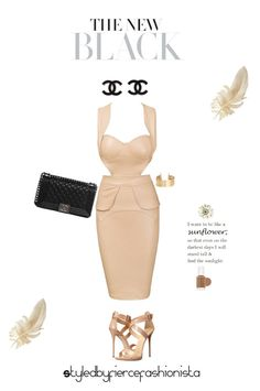 """""""The New Black"""" by fiercefashi0nista on Polyvore"""