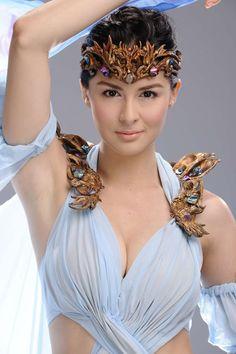 Marian Rivera ll Filipina Actress ll Host ll Model ll Dancer Filipina Girls, Filipina Actress, Filipina Beauty, Marian Rivera, Hot Hair Styles, Glamour, Asian Hair, Hair Care Tips, Hair Pins