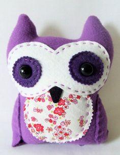 plush owl $20.00