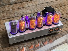 Pluggable-Wireless-V3.0-Pro-USB Powered IN-14 6-Tube NIXIE Clock-NIXIE TUBE ERA