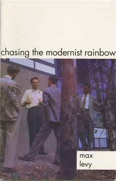 Young Charles Eames at the Eames House with some visiting architects in this book by Max Levy #eames #eameshouse