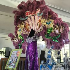 Mississippi Gulf Coast Travel - What to do in Bay St. Louis - Mardi Gras Museum & more #BayouTravel