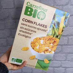 Supermercado: Carrefour Producto: Cornflakes s/azúcar Tipo de alimento: HC