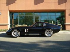 Replica/Kit Makes 1965 Factory Five Shelby Daytona Coupe - http://www.legendaryfind.com/carsforsale/replicakit-makes-1965-factory-five-shelby-daytona-coupe/