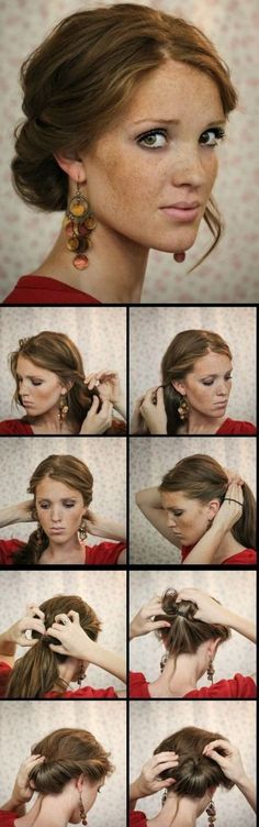 Szybka i łatwa fryzura
