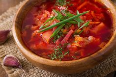 Borscht Soup, Ayurvedic Diet, Ayurvedic Recipes, Dill Recipes, Soup Recipes, Red Soup Recipe, Beet Soup, Ideas