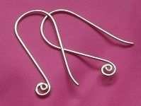 Make Custom Jewelry Findings: 9 Inspiring Ear Wire Designs for One-of-a-Kind Earrings - Jewelry Making Daily - Blogs - Jewelry Making Daily