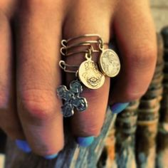 Alex and ani rings...ok so now i totally love the rings too!!!