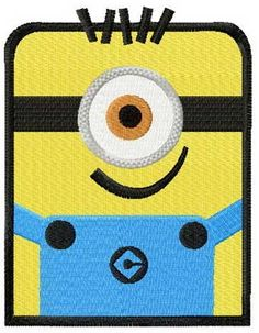 Despicable Me machine embroidery designs fro cartoon movie fans clothes. Any embroidery formats, available. Minions 4, Purple Minions, Cute Minions, Minion Christmas, Girl Minion, Deer Costume, Photo Stitch, Popular Cartoons, Bebe