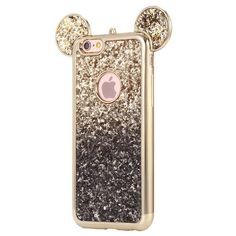 Kisscase Mickey Mouse Silicone Case For Iphone 6 Plus 7 7 Plus 5 Se Cases Fashion Bling Glitter Ultra Soft Tpu Cover Iphone 8, Diy Iphone Case, Coque Iphone 6, Iphone 7 Plus Cases, Apple Iphone 6, Girly Phone Cases, Disney Phone Cases, Glitter Phone Cases, Mickey Mouse Phone