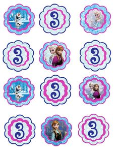 Frozen Birthday Party Decor Pack