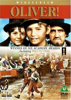 "Oliver - yet another movie (1968) from IMDb's ""Top 20 musicals of all time"" list that I have still not seen   *"