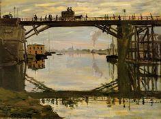The Wooden Bridge, 1872, Claude Monet