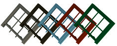 Avoid a color blunder when you're improving your home's exterior. Pictured here are our ColorBond® window options. Exterior Design, Beautiful Homes, Improve Yourself, Windows, Doors, Pictures, Home Decor, House Of Beauty, Slab Doors