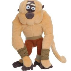 Monkey From Kung Fu Panda | Kung-fu Panda Movies Buddy 9 Inch Tall Plush Toy - Master Monkey