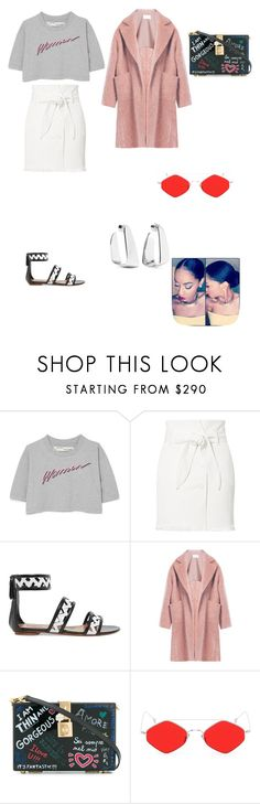 """Visiting Manila Ocean Park And Santiago Fort With My Dancers"" by monalisa34 ❤ liked on Polyvore featuring Off-White, Nanushka, Alaïa, Raey, Dolce&Gabbana, Spektre and Jennifer Fisher"