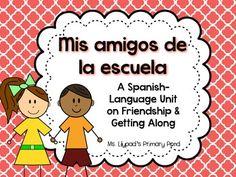 ELA & Social Studies unit on friendship - Spanish or English versions