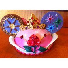 Disney Aurora Mickey Mouse Ears Hat Ornament
