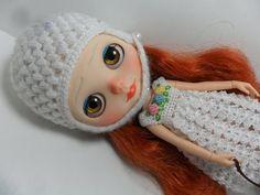 Dress crochet Flowers for Blythe Doll