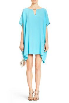 DVF | The Beonica is a bohemian chic dress with dolman sleeves that can also be worn as a tunic.  http://on.dvf.com/198b4P6