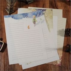 Cheap stationery pad, Buy Quality stationery stamp directly from China stationery book Suppliers: Cartoon Fairy Tales The Little Prince Story Letter Pad Paper 8 sheets Letter paper Per Set Writing Paper StationeryTip