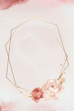 Framed Wallpaper, Flower Background Wallpaper, Flower Phone Wallpaper, Pink Wallpaper Iphone, Flower Backgrounds, Pink Glitter Background, Frame Background, Mises En Page Design Graphique, Snapchat Stickers