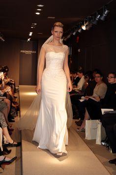21 Lovely Illusion Necklines from the 2014 Bridal Market - Munaluchi Bridal Magazine