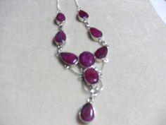 Beautiful and HUGE Sterling Silver and by GingersLittleGems, $45.00