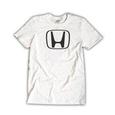 HONDA insignia Unisex White T-Shirt Car Emblem Cool Shirt