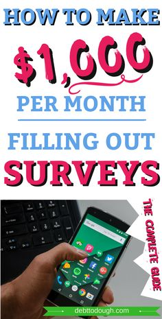 Learn how to make $1,000/month filling out surveys. Don't fill out surveys blindly, go follow my STEP BY STEP strategy. Make Money Online easy to follow money guide.  #extramoney #sidehustle #earnmoney #fastmoney #easymoney #makemoney #onlineincome #surveys