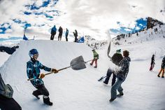#shapper #serrechevalier #redbull #snowboard #ski http://www.serre-chevalier.com/hiver/ski-alpes/snowpark-et-zone-ludique/